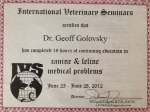 Attended By Dr. Geoff Golovsky5