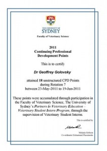 Attended By Dr. Geoff Golovsky6