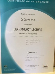 Attended by Dr. Caryn Wun